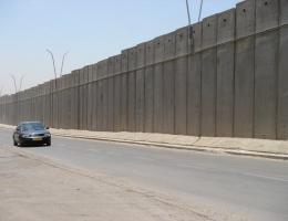Trennmauer zwischen Israel und dem Westjordanland