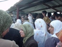 Der Kalandia-Checkpoint trennt Ramallah von Jerusalem