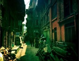 Bhaktapur galt als eines von 8 UNESCO Weltkulturerbe im Kathmandu Tal