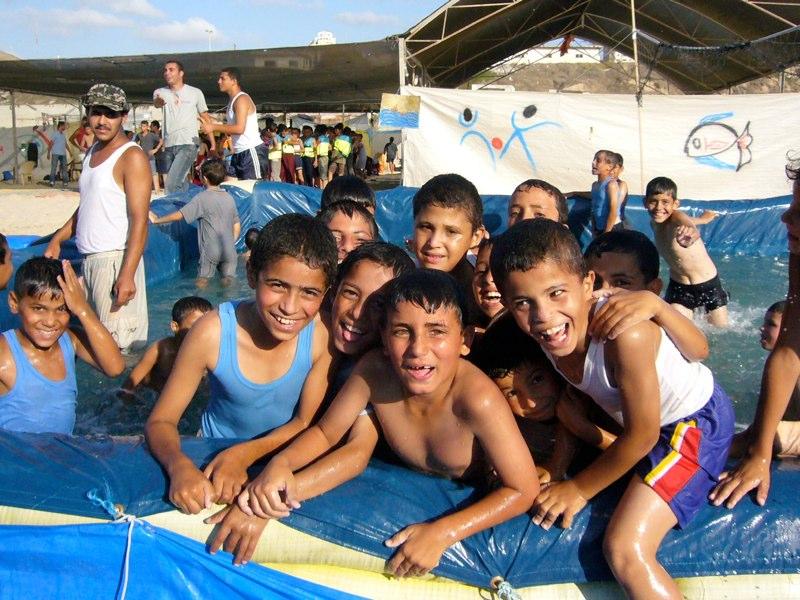 Verschnaufpause in einem UN-Sommerlager
