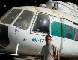 Der letzte Helikopter im Gazastreifen – und sein Bewacher