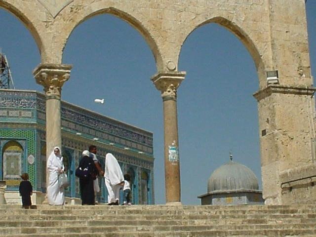 Der Felsendom gehört zu den wichtigsten islamischen Pilgerorten