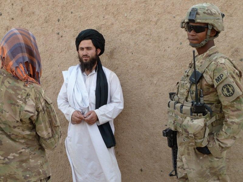 Jeder könnte ein Taliban sein.
