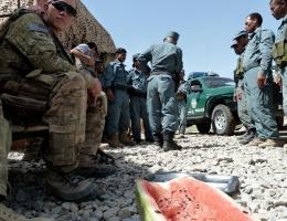 Die Zusammenarbeit mit afghanischen Soldaten ist von Misstrauen geprägt