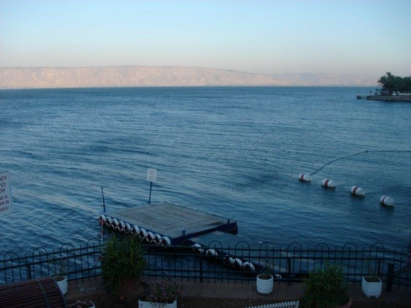 Manche Raketen schlugen während dem Krieg im See Genezareth ein, meist blieb es jedoch ruhig.