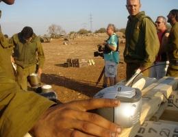Junge israelische Soldaten
