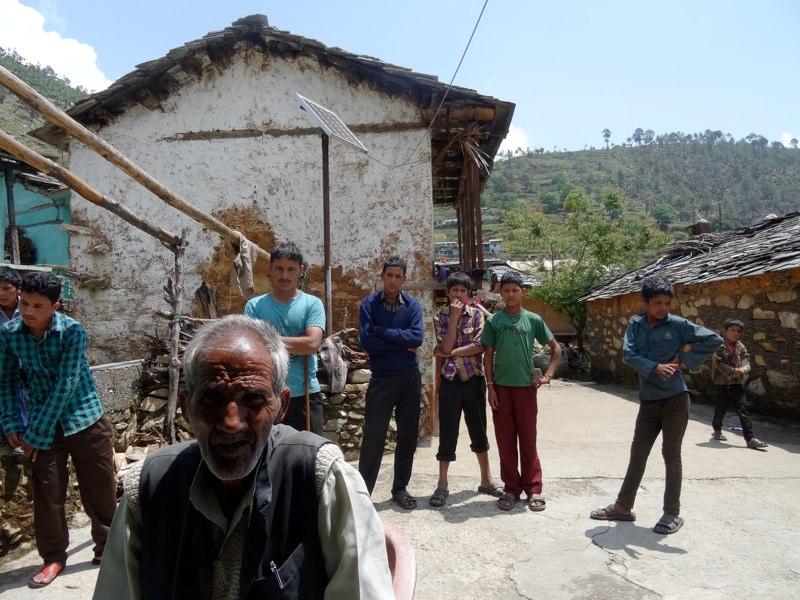 Die Dorfbewohnern wünschen sich am meisten eine Strasse