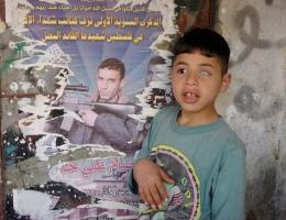 Die Jugendlichen von Balata nehmen sich die Kämpfer der bewaffneten Gruppierungen als Vorbilder