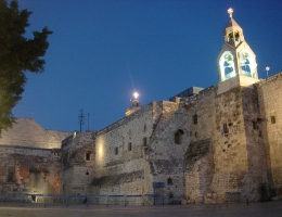 Die Geburtskirche Jesu in Bethlehem