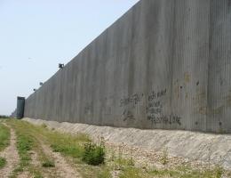 Trennmauer um Kalkilya
