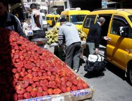 Strassenszene in Ramallah
